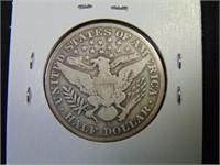 1912S Barber Half Dollar