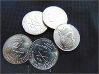 2004 P&D Jefferson Nickels