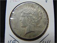 1925 Peace Dollar
