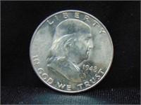 1948D Franklin Half Dollar