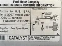 2007 Ford F-150 P/U