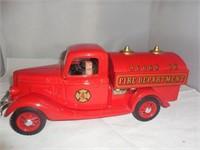 Acorn LK Fire TruckSealed Jim Beam Decanter