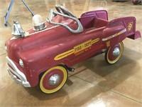 Fire Dept. Pedal Car