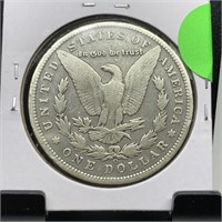 1896-O MORGAN SILVER DOLLAR COIN