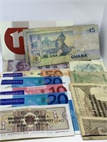 LOT OF MISC FOREIGN CURRENCY