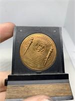 JFK TOKEN VTG MEDALLION COIN