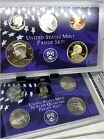 2008 US MINT PROOF COIN SET