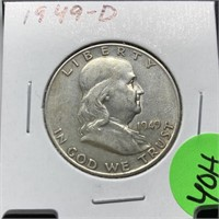 SATURDAY NIGHT COIN AND JEWELRY AUCTION