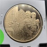 FRANKLIN MINT HOLIDAY BRONZE COIN
