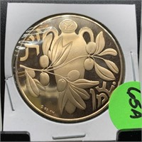 FRANKLIN MINT BRONZE HOLIDAY COIN
