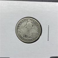 1907 20 CENTAVOS SILVER COIN