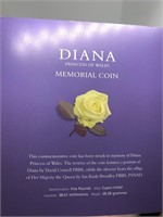 1997 DIANA COMMEMORATIVE 5 POUND COIN