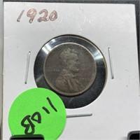 1920 WHEAT PENNY
