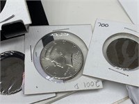 LOT OF MISC COINS