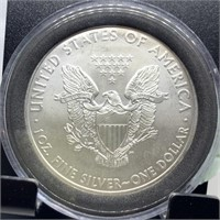 2009 SILVER EAGLE DOLLAR BULLION COIN