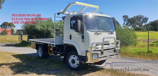 2013 Isuzu FSS 550 - Trucks for Sale