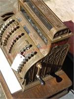 Vintage Brass National Cash Register