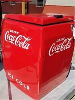 Vintage Coca-Cola Pop Cooler- Electric