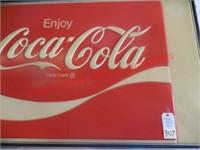 Classic Coca-Cola Sign. Elec.