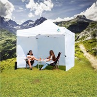 Sunotic 10x10FT Pop Up Canopy Tent with Sides a