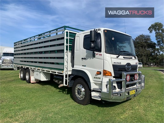 2018 Hino 500FM2635 Wagga Trucks - Trucks for Sale
