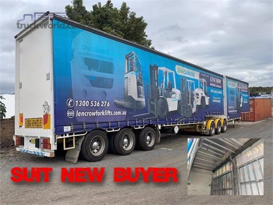 2017 Vawdrey 34 Pallet Curtainsider B Double Set Southern Star Truck Centre Pty Ltd - Trailers for Sale