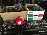 Coors Hats, Molson Ball Caps, Budweiser Scarves,