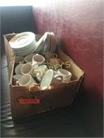 Qty Espresso Cups, Saucers, Etc.