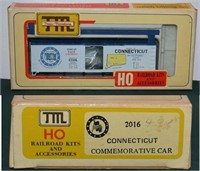 Connecticut Bicentennial Car Train Miniture HO kit