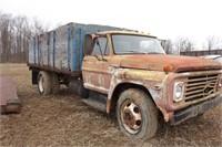 Ford Grain Truck - Yellow/Blue