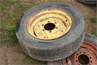 4pc ag & implement tires  w/ rims