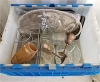 Box Lot of Kitchen Items
