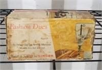 Vintage Fashion Discs by Singer