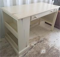 Desk with Side Shelves
