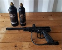 Revelation Paintball Gun and 2 Tanks