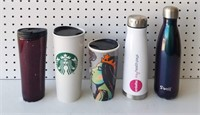 Coffee Mugs and Water Bottles