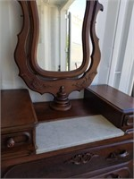 Vintage Decorative Dresser with Mirror