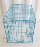 Blue Pet Crate