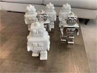 6 PC ROBOTS