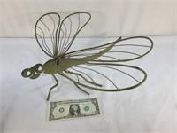 Metal Dragonfly Garden Decor
