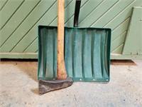 Snow Shovel & Ax