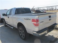 2013 FORD F150 XLT EXT CAB 4X4