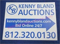 A nice Tuesday Online Only auction is scheduled...