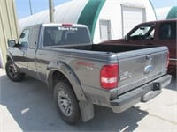 2007 FORD RANGER SPORT EXT CAB 4X4