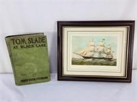 Tom Slade Book & Ship Picture