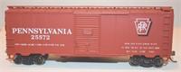 Pennsylvania PRR 25572 40ft Box Car HO