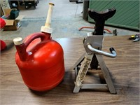 Small Gas Can & Stand