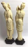 Pr Asian Composite Figurines