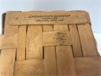 Longaberger 1995 Father's Day Mini Waste Basket