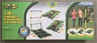 Go! Gater 3-in-1 Outdoor Game Set - New in the Box